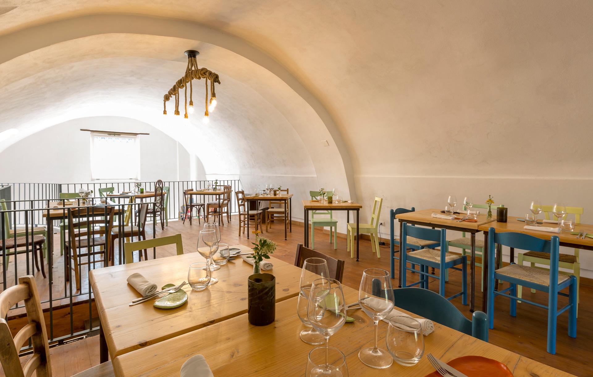 Masseria Sardo, sala interna