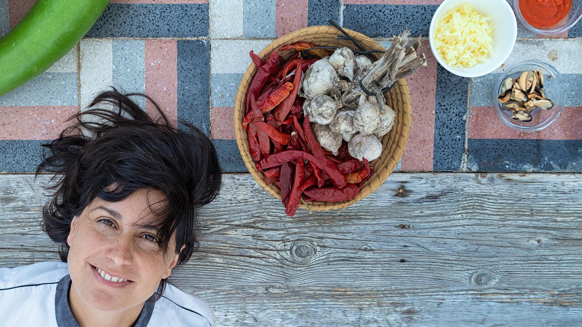 Masseria Sardo, Chef Gabriella Barbati